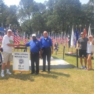 Rome Tomb Project Makes Trip To Niceville, Florida For Field Of Valor Celebration