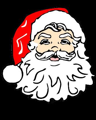 Santa for Seniors Time!