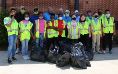 TWO COMMUNITY SERVICE PROJECTS COMPLETED LAST WEEK